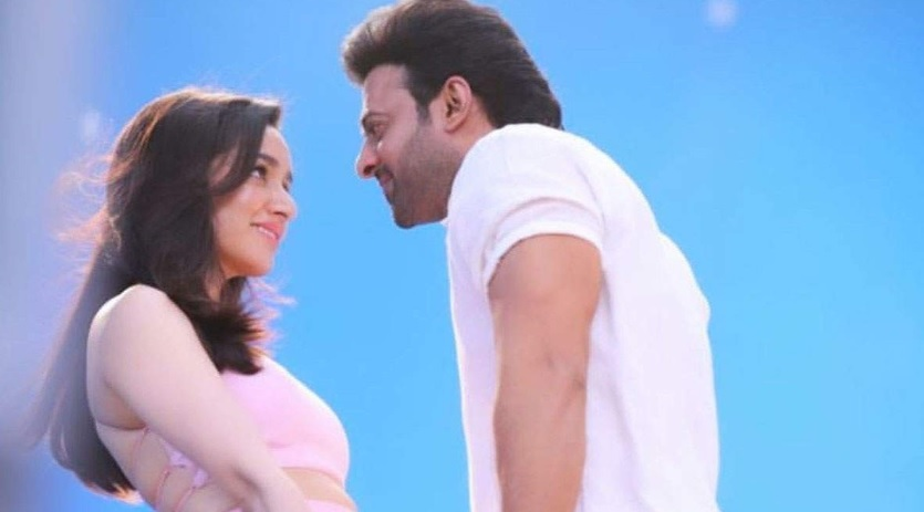 "Shraddha Kapoor And Prabhas In A New Still From ""Saaho""! We Can't Get Enough Of Her Cute Blush!"
